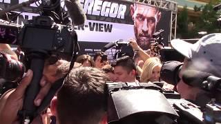 Conor McGregor Makes His Grand Arrival & Then Predicts A Spectacular KO over Mayweather