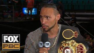 Keith Thurman Calls For Rematch Against Manny Pacquiao