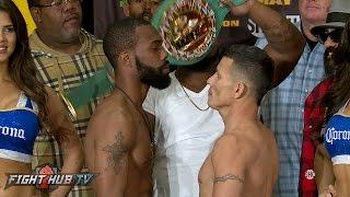 Russell Jr. Stops Escandon in 7 to retain WBC Featherweight Championship