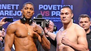 Anthony Joshua vs. Joseph Parker Results: Heavyweight Unification Goes The Distance