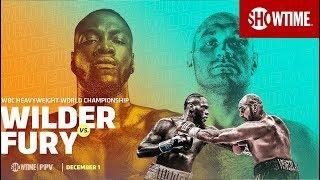 Deontay Wilder vs. Tyson Fury Los Angeles Press Conference
