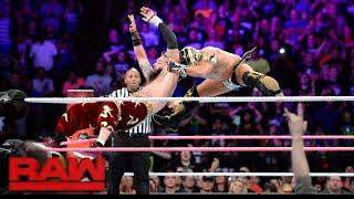 WWE Raw Results For 10/16 - The Tag Titles Are Defended, A Steel Cage Match & A Surprise Return