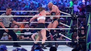 Video: A Breakdown On Ronda Rousey's WWE Striking vs. UFC Striking