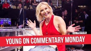 Renee Young Officially Becomes The First Woman To Ever Call A Full Episode Of Monday Night RAW