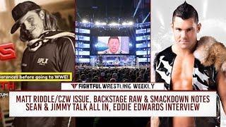 Fightful Wrestling Weekly 8/3: Pentagon, Matt Riddle, Raw & SD Notes
