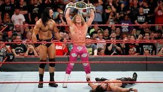 Dolph Ziggler Wins Intercontinental Title On WWE Raw 6/18/18