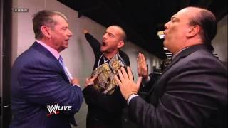 Report: Vince McMahon Labels CM Punk The One Man He Can't Do Business With