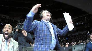 Mauro Ranallo makes no apologies for the enthusiasm he shows while commentating