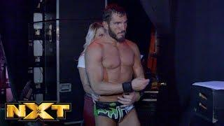 Johnny Gargano after his NXT TV main event.