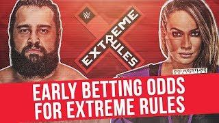 Early Betting Odds For WWE's 'Extreme Rules' PPV
