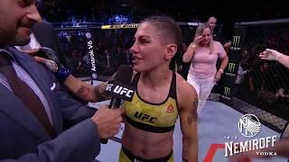 Jessica Andrade Can't Believe She Went For A Pile Driver Against Rose Namajunas