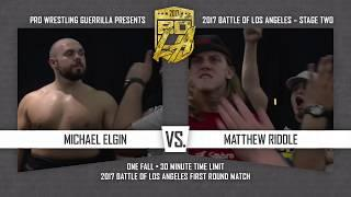 PWG - Preview - 2017 Battle of Los Angeles - Night Two