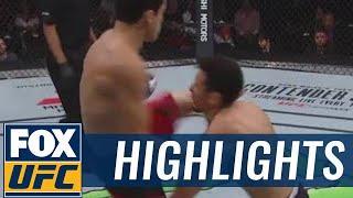 VIDEO: Humberto Bandenay's Huge Upset KO At UFC Mexico