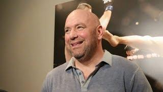 MMA Media Dump: Dana White Scrum, Victor Ortiz,