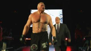 WWE Releases Highlights From Brock Lesnar vs. Randy Orton Rematch