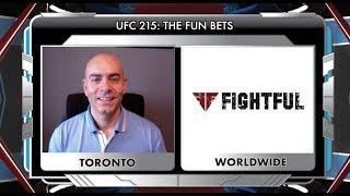 Showdown Joe's UFC 215 Fun Betting Guide And Lines (VIDEO)