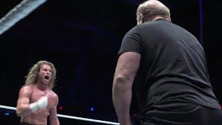 Arn Anderson gives Dolph Ziggler a spinebuster at Starrcade