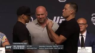 Nate Diaz, Dustin Poirier Claim They're Fighting For First 165 Pound UFC Title, UFC Denies Claims