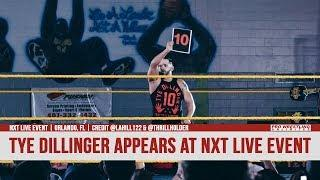 Fight Size Update: Tye Dillinger Returns To NXT At A Live Event, Will Ospreay Comments On If He's Interested In Going To WWE, Ember Moon, More