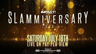 IMPACT Wrestling Slammiversary 2020 - IMPACT Tag Team Title Match: The North vs. Callihan & Shamrock