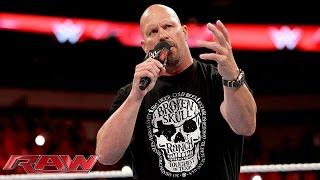 Steve Austin Says He Wasn't At RAW Last Week After All
