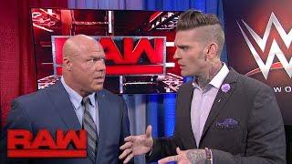 Corey Graves discussed the challenges of having Vince McMahon, and others, in your ear while doing WWE commentary