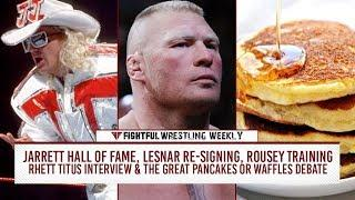 Fightful Wrestling Weekly (2/23): Brock Lesnar, Jinder Mahal, Jeff Jarrett And WWE, Rousey Clip, Apollo's Name
