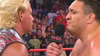 Jeff Jarrett Says Mick Foley Is Why TNA Eventually Signed Samoa Joe