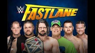 Early WWE Fastlane Betting Odds