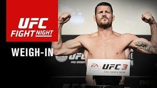 LIVE: UFC Fight Night Shanghai: Official Weigh-in