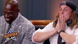 Matt Riddle Describes Incident With Goldberg; Critiques Match During WWE SummerSlam Watch Along