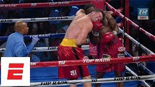 Bryant Jennings Comes From Behind, Stops Alexander Dimitrenko On ESPN