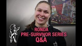 Ronda Rousey Says She Would've Liked To Have More In-Ring Experience Before Wrestling Charlotte Flair