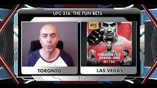 UFC 216's Fun Betting Guide From Showdown Joe