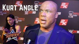 Kurt Angle Said He's Aiming For An Early 2018 Return To Wrestle In WWE