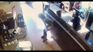 Reaction To Woman Furiously Crapping On Tim Horton's Floor