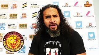 NJPW Taking 'Disciplinary Action' Against Tama Tonga Following Social Media Activity And Choking Fan