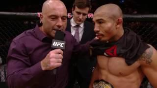 Jose Aldo Not Moving Up A Weight Class