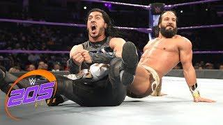 Mustafa Ali and Tony Nese in this week's 205 Live main event.