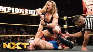Pete Dunne and Kyle O'Reilly in their UK Title match on this week's NXT.