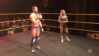 Johnny Gargano said farewell to NXT during a live event in his hometown of Cleveland, Ohio.
