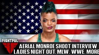 Aerial Monroe Hasn't Been Contacted By ROH Or IMPACT, But Gained Promising Feedback