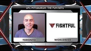 UFC Pittsburgh's Fun Betting Guide