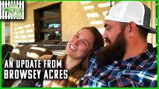 Update On Ronda Rousey And Travis Browne's Wrestling Training