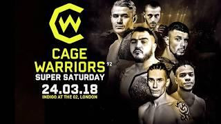 Cage Warriors 92: Super Saturday Results - Three Title Bouts & UFC Veteran Vaughan Lee Competes
