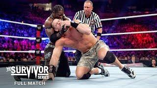 Full Match: The Rock & John Cena vs R-Truth & The Miz: Survivor Series 2011