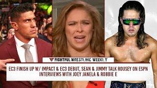 Fightful Wrestling Weekly (3/30): Janela Spring Break, EC3-NXT-Impact, MMA Crossover, Glacier, Severn, Robbie E