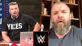 Triple H On Pat McAfee's Future After NXT TakeOver 30, Says McAfee Told Him He'll Be In WWE Hall Of Fame