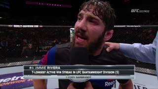 Jimmie Rivera Blames Dominick Cruz's Fighting Style For Recent Injury