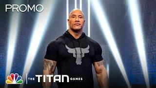 The Rock Couldn't Be More Excited To Have NBC's Titan Games Bringing Competitive Sports Back To TV